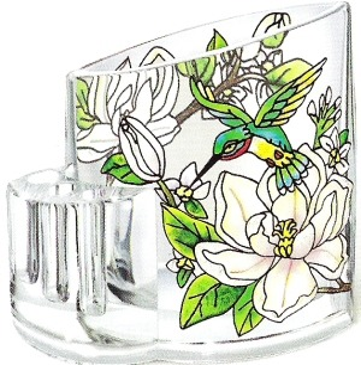 Amia 5754 Still Magnolias Pencil Holder