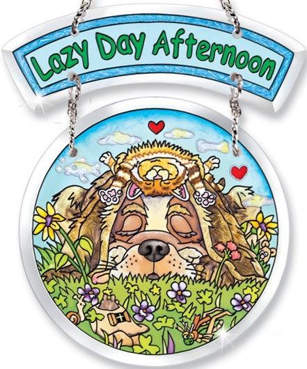 Amia 5769 Lazy Day Afternoon 2 Piece Suncatcher