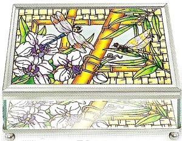 Amia 5965 Bamboo Habitat Large Jewelry Box