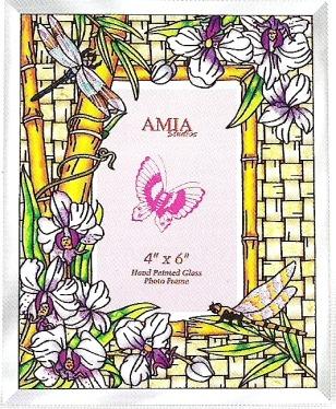 Amia 5969 Bamboo Habitat Large Photo Frame