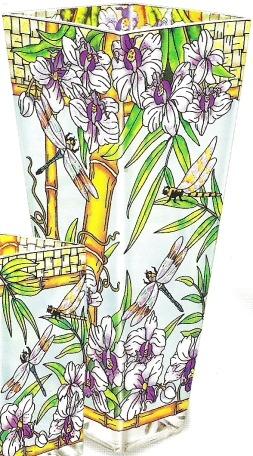 Amia 5981 Bamboo Habitat Extra Large Vase