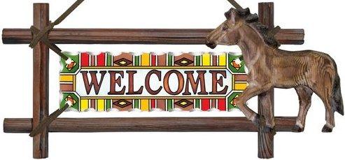 Amia 6200 Horse Welcome Panel