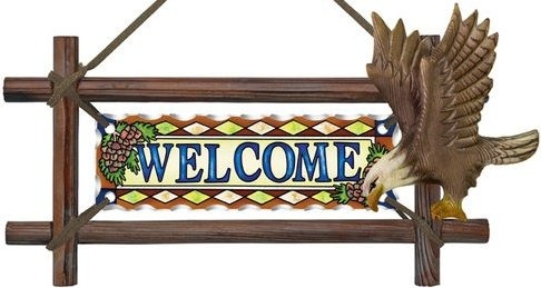 Amia 6207 Eagle Welcome Panel