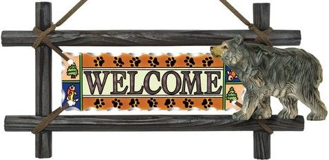 Amia 6210 Bear Welcome Panel