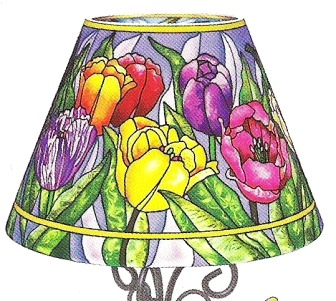 Amia 6302 Tulip Tempo Candle Lamp Shade Only