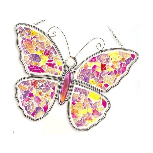 Amia 6471 Pink & Purple Butterfly