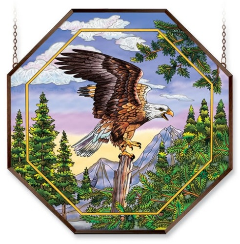 Amia 6488 Screaming Eagle Octagon Panel