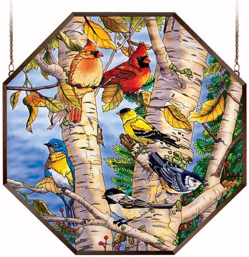Amia 6491 Songbird Favorites Octagon Panel
