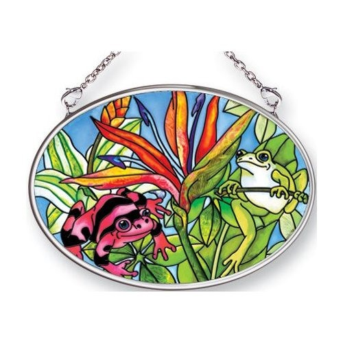 Amia 6629i Amphibiations Small Oval Suncatcher