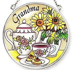 Amia 6798 Grandma Small Circle Suncatcher