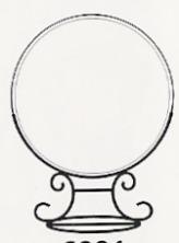 Amia 6992 Large Circle Stand