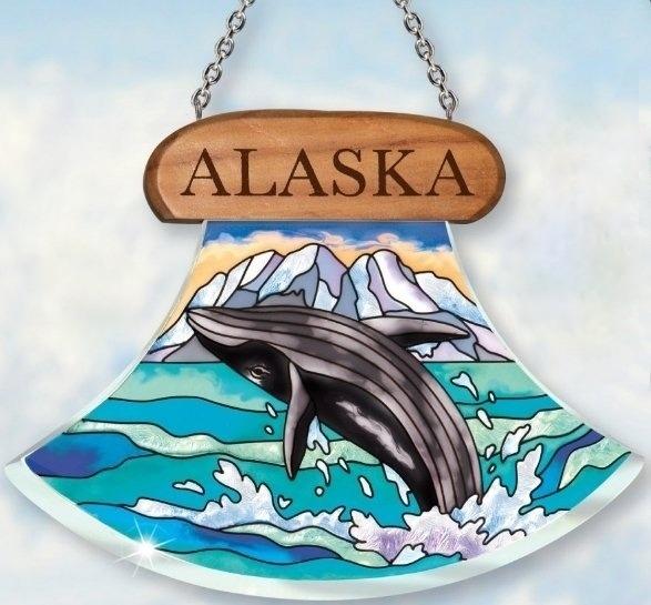 Amia 7411 Alaska Whale Suncatcher