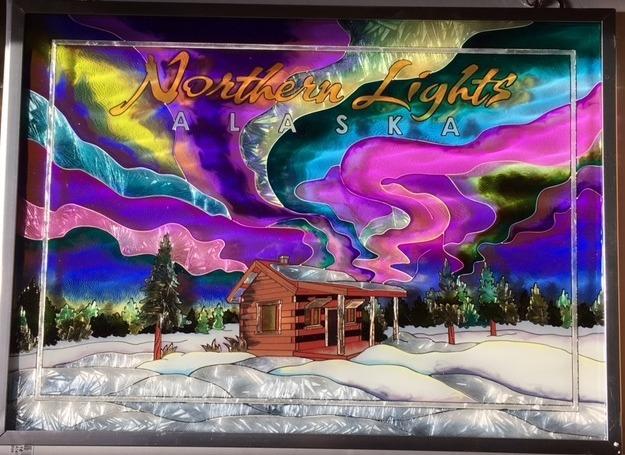 Amia 7416 Northern Lights Window Panel
