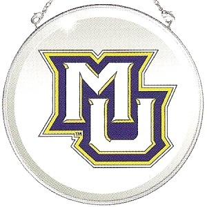 Amia 7499 Marquette University Beveled Medium Circle Suncatcher