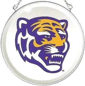 Amia 7500 The University Of Memphis Beveled Medium Circle Suncatcher