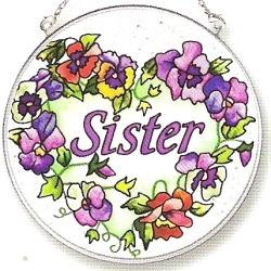 Amia 8122 Sister Medium Circle Suncatcher