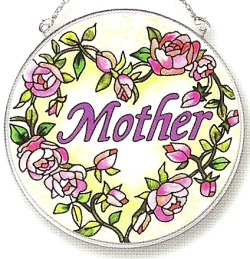 Amia 8123 Mother Medium Circle Suncatcher