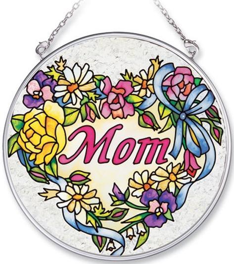 Amia 8125 Mom Medium Circle Suncatcher