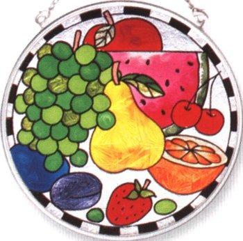 Amia 8266 Fruit Medium Circle Suncatcher
