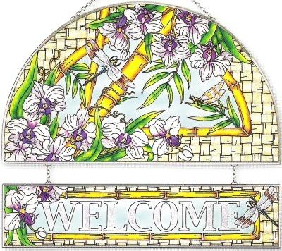 Amia 8455 Bamboo Habitat Welcome Panel