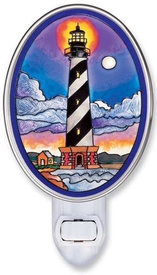 Amia 8505ii Cape Hatteras Lighthouse Night Light