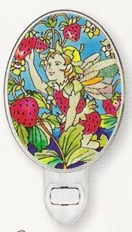 Amia 8549 Strawberry Fairy Night Light Nightlight