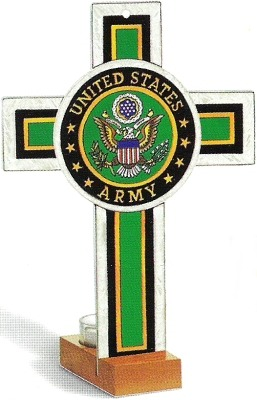 Amia 8751 Army Military Insignia Cross