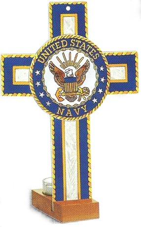 Amia 8754 Navy Military Insignia Cross