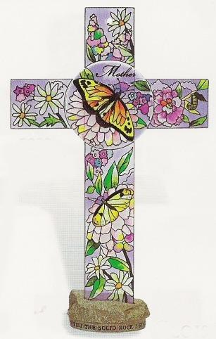 Amia 8882 Mother Inspirational Cross