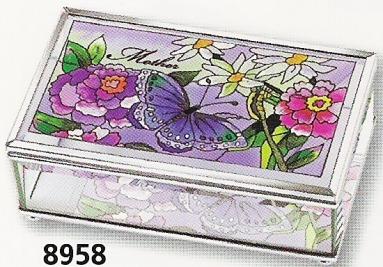 Amia 8958 Mother Medium Jewelry Box