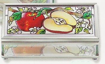 Amia 8976 Apple Orchard Small Jewelry Box