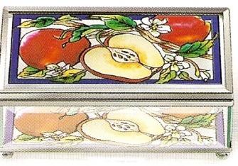Amia 8977 Apple Orchard Medium Jewelry Box