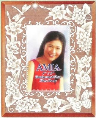 Amia 9018 Ladys Head Large Photo Frame