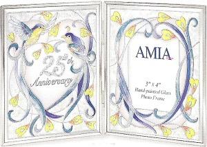 Amia 9047 25th Anniversary Photo Frame