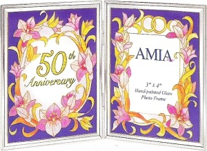 Amia 9048 50th Anniversary Photo Frame