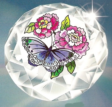 Amia 9082 Rose Butterfly