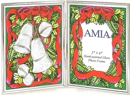 Amia 9111 Crystal Bells Photo Frame
