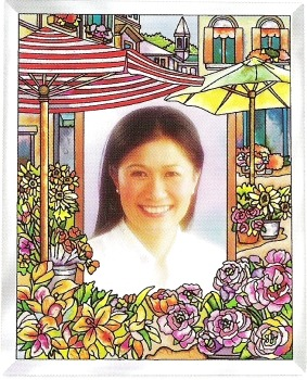 Amia 9198 The Flower Market Photo Frame