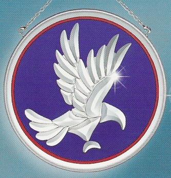 Amia 9211 Eagle Beveled Suncatcher