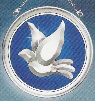 Amia 9220 Dove Beveled Glass