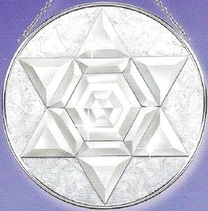 Amia 9229 Amia Circle Star M Beveled Glass