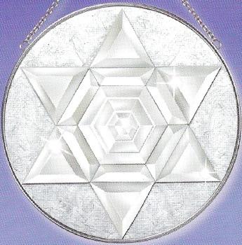 Amia 9232 Amia Circle Star L Beveled Glass