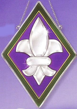 Amia 9234 Diamond Fleur De Lis