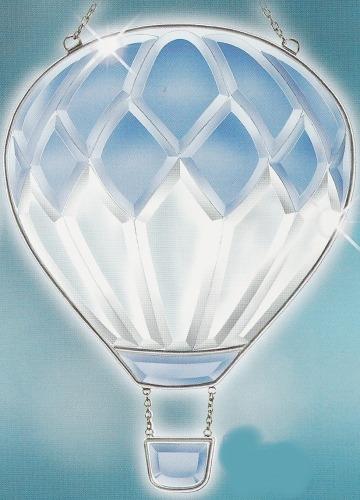 Amia 9236 Blue Balloon Beveled Suncatcher