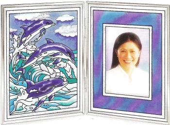 Amia 9327 Dolphins Photo Frame