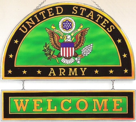 Amia 9354i Army Welcome Panel