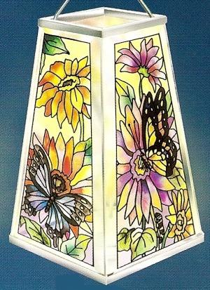 Amia 9386 Daisies & Butterflies
