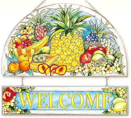 Amia 9401 Pineapple Welcome Panel