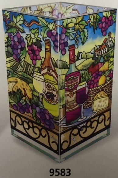 Amia 9583 Great Vintages Rectangular Vase Votive Holder