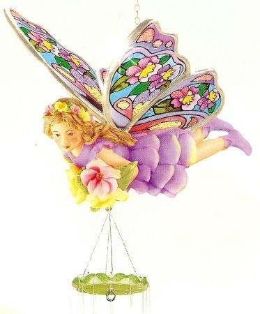 Amia 9622 Iris Fairy Windchimes